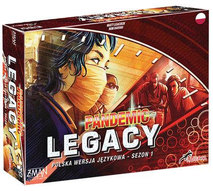 Pandemic Legacy: Sezon 1 (edycja czerwona) (Gra Planszowa)