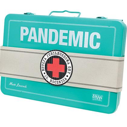 Pandemic 10th Anniversary (edycja polska) (Gra Planszowa)