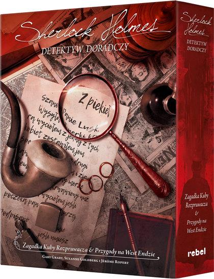 Sherlock Holmes: Detektyw doradczy - \Zagadka Kuby Rozpruwacza\ i \Przygody na West Endzie\