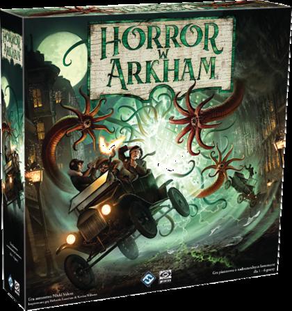 Horror w Arkham (trzecia edycja) + Woreczek gratis (Gra Planszowa)