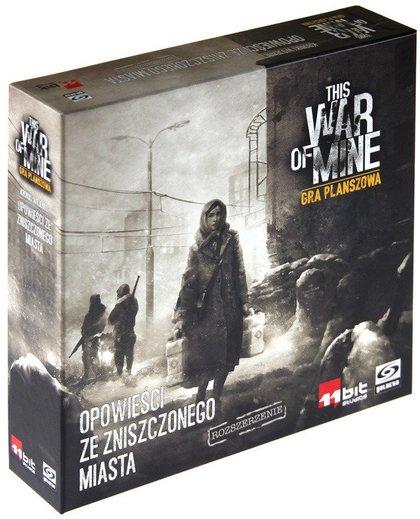 This War of Mine: Opowieści ze zniszczonego miasta (edycja polska) (Gra Planszowa)