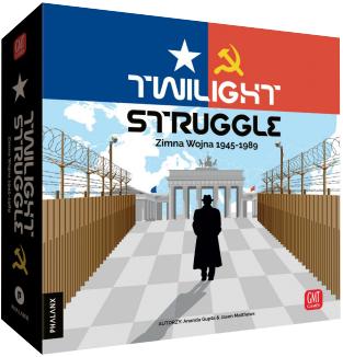 Twilight Struggle: Zimna Wojna 1945-1989 (Gra Planszowa)