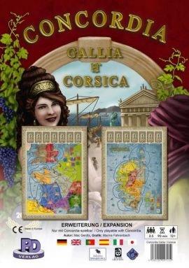 Concordia Galia / Corsica (Dodatek do gry)
