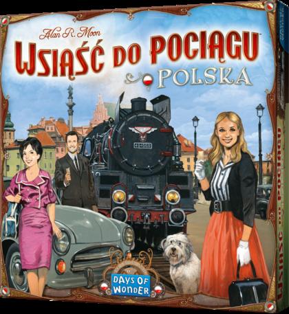 Wsiąść do Pociągu: Kolekcja Map 6.5 - Polska (Gra Planszowa)