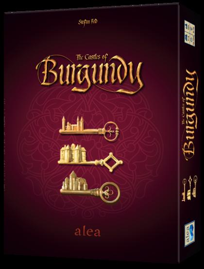 Zamki Burgundii: BIG BOX (gra planszowa)