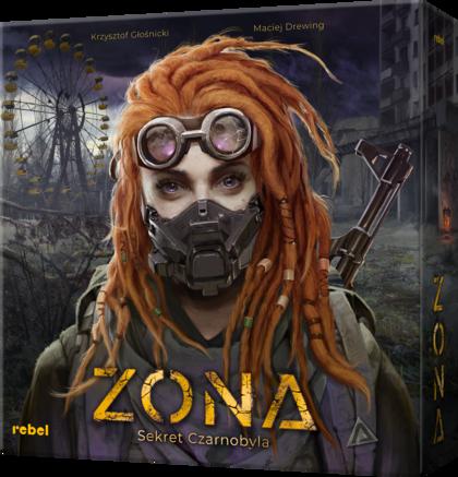 Zona: Sekret Czarnobyla (Gra Planszowa)