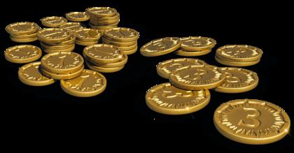 Everdell: Zestaw monet deluxe