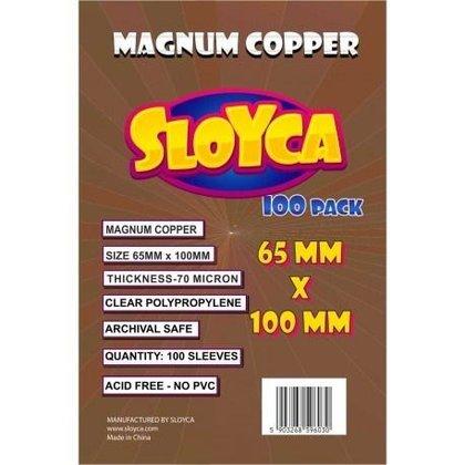Koszulki Magnum Copper 65x100mm (100szt) SLOYCA