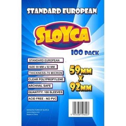 Koszulki Standard European 59x92mm (100szt) SLOYCA