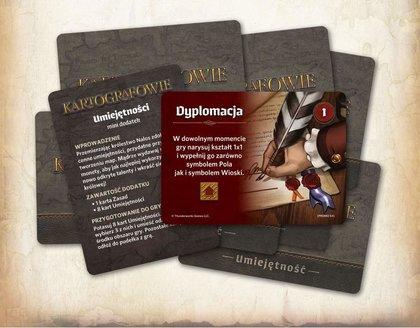 Kartografowie - Umiejętności (dodatek) OGRY GAMES