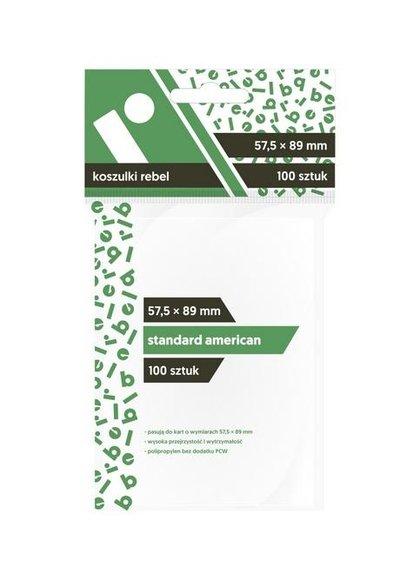 Koszulki Standard American 57,5x89 (100szt) REBEL