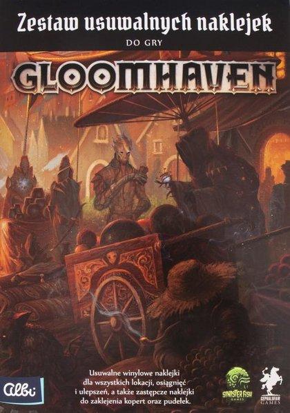 Gloomhaven - Zestaw usuwalnych naklejek/ Removable Sticker Set