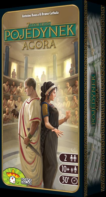 7 Cudów Świata: Pojedynek - Agora (gra planszowa)
