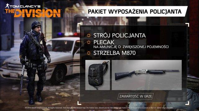 Tom Clancy's The Division Pakiet Wyposażenia Policjanta (PC)