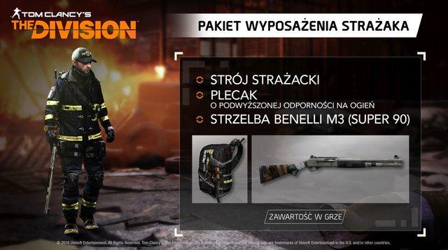 Tom Clancy's The Division Pakiet Wyposażenia Strażaka (PS4)