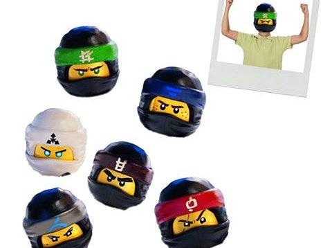 Papierowe maski Lego Ninjago
