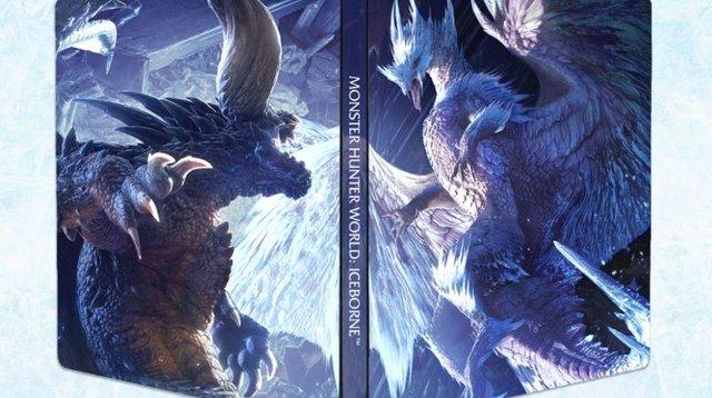 Monster Hunter World: Iceborn steelbook GRATIS