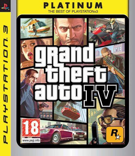 Grand Theft Auto IV Platinum (PS3)