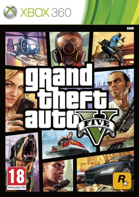 Grand Theft Auto V (X360) PL