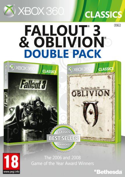 Fallout 3 & Oblivion Double Pack (X360)