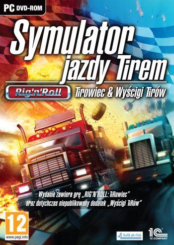Symulator Jazdy Tirem:  Rig'n'Roll Wyścigi Tirów + Tirowiec (PC) PL
