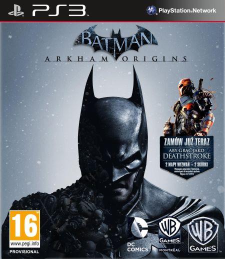 Batman: Arkham Origins Edycja Kolekcjonerska (PS3) PL + DLC