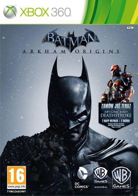 Batman: Arkham Origins Edycja Kolekcjonerska (X360) PL + DLC