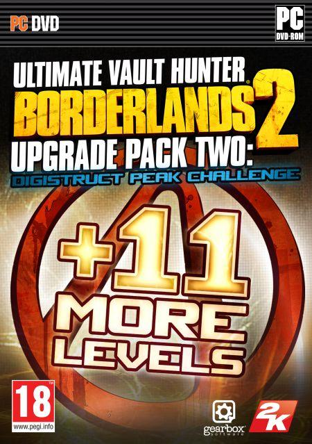 Borderlands 2 Ultimate Vault Hunters Upgrade Pack 2 Digistruct Peak Challenge (PC) DIGITAL