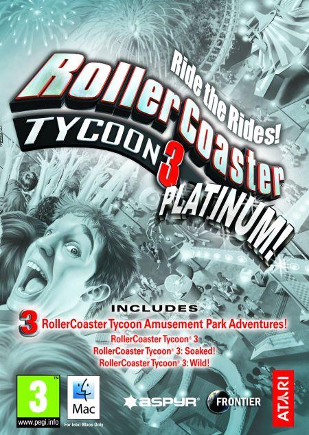 RollerCoaster Tycoon 3: Platinum (MAC) klucz Steam