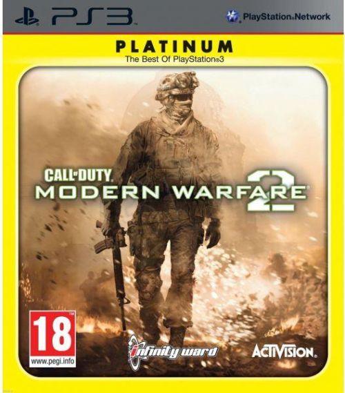 Call of Duty: Modern Warfare 2 Platinum (PS3) + Figurka
