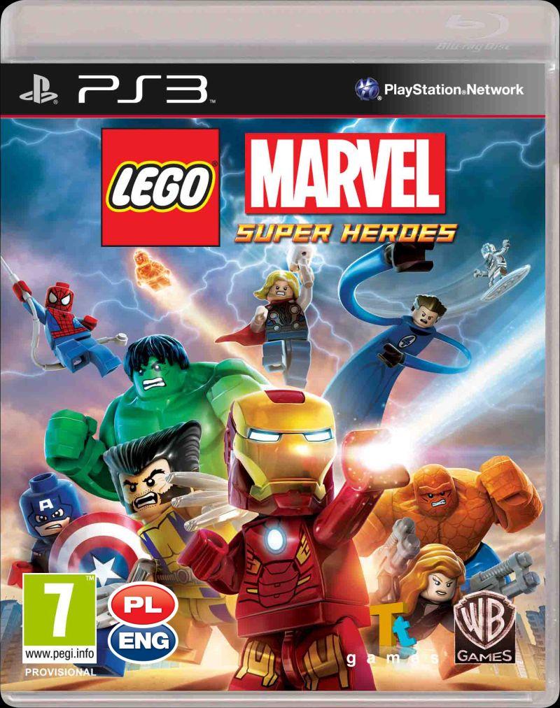 LEGO Marvel Super Heroes Essentials (PS3)