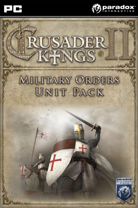 Crusader Kings II: Military Orders Unit Pack (PC) klucz Steam