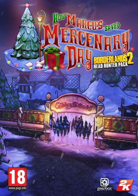 Borderlands 2 Headhunter 3: Mercenary Day (PC) DIGITAL
