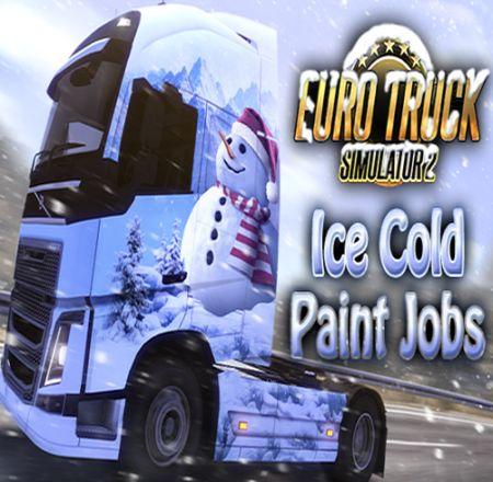 Euro Truck Simulator 2 Ice Cold Skinpack - Skórki świąteczne (PC) DIGITAL
