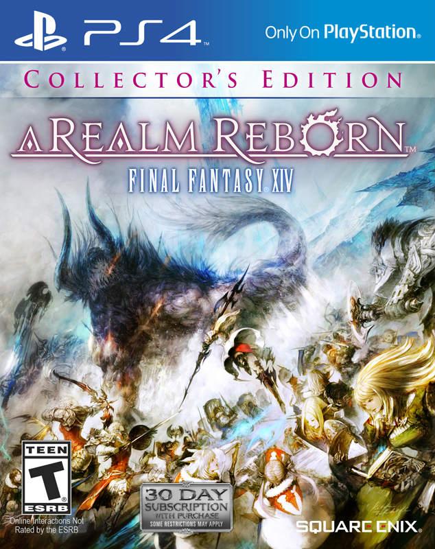 Final Fantasy XIV A Realm Reborn Collector's Edition (PS4)