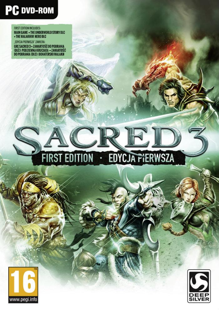 Sacred 3 Pierwsza Edycja (PC) PL + DLC