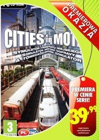 Cities in Motion: Symulator Transportu Miejskiego (PC) PL
