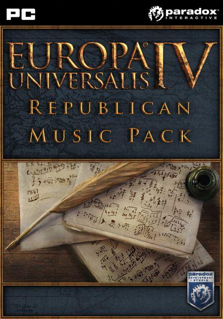 Europa Universalis IV DLC Republican Music Pack (PC) klucz Steam