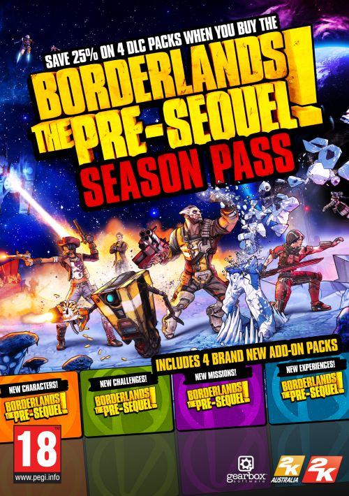 Borderlands: The Pre-Sequel Season Pass (PC) DIGITAL