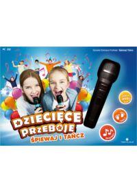 Karaoke Dziecięce Przeboje: Śpiewaj i Tańcz (PC) + mikrofon