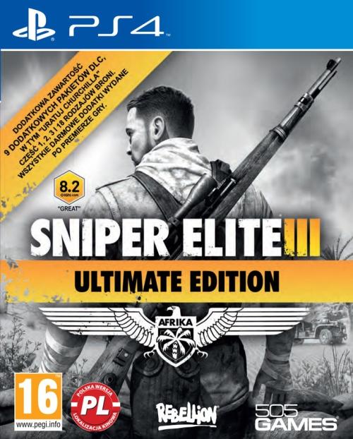 Sniper Elite III - Ultimate Edition (PS4) + e-book GRATIS
