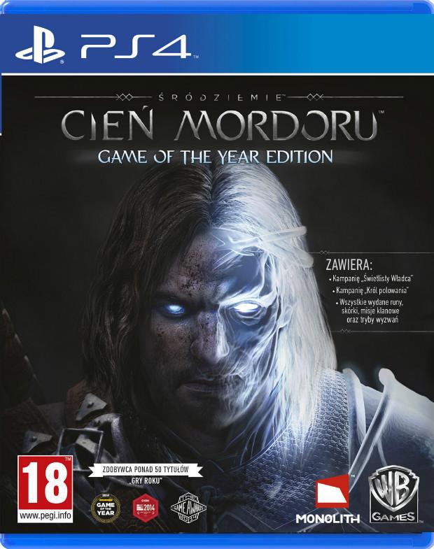 Śródziemie: Cień Mordoru Game of the Year Edition (PS4) PL