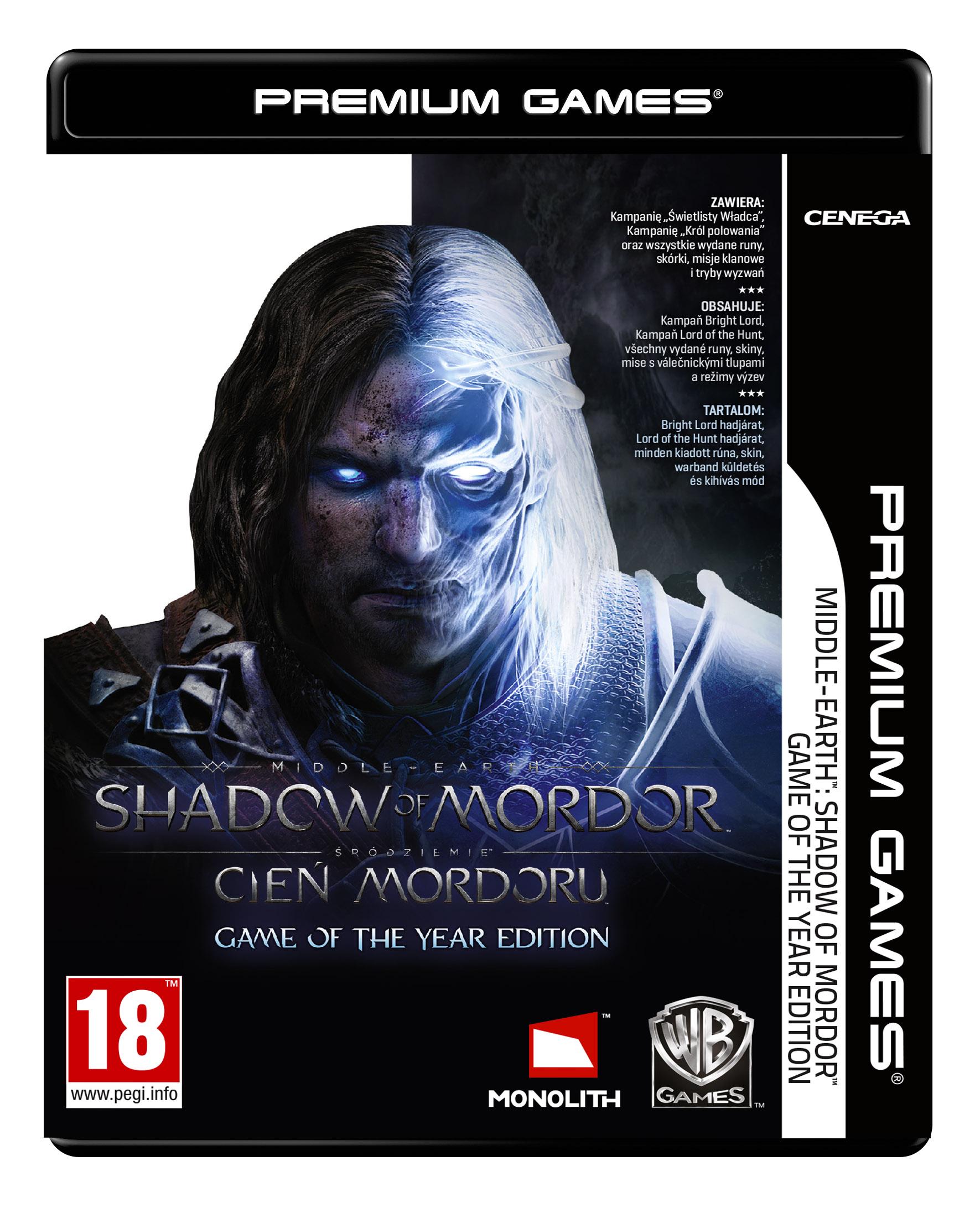 [NPG] Śródziemie: Cień Mordoru Game of the Year Edition (PC) PL