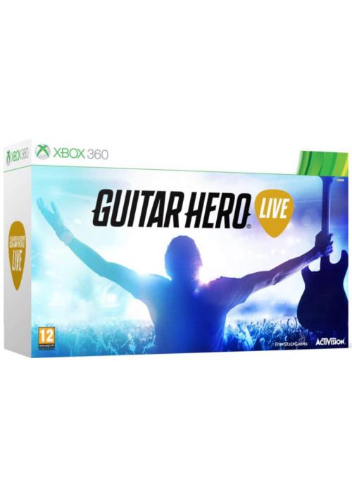 Guitar Hero Live (X360) + gitara