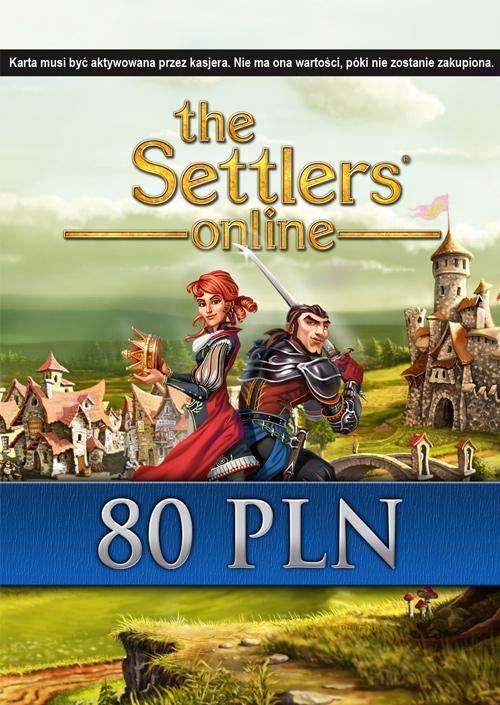 The Settlers Online doładowanie 80 PLN (PC) DIGITAL