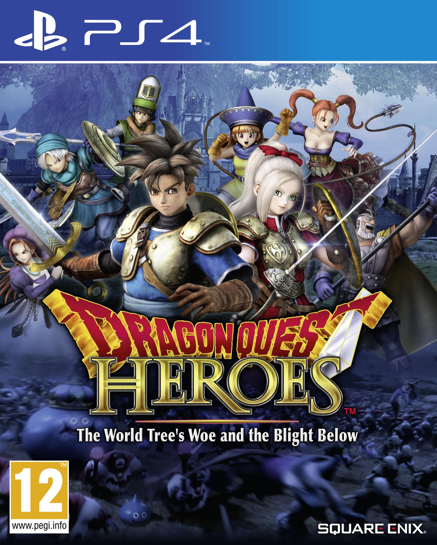 Dragon Quest Heroes  (PS4)