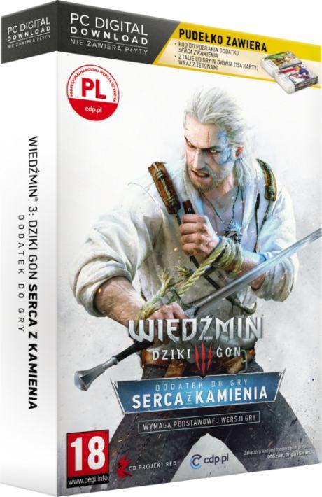 Wiedźmin III: Dziki Gon - Serca z Kamienia Edycja Limitowana (PC) PL