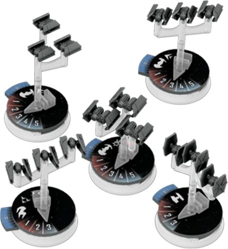 Star Wars: Armada - Eskadry Myśliwców Imperium (Gra Figurkowa)