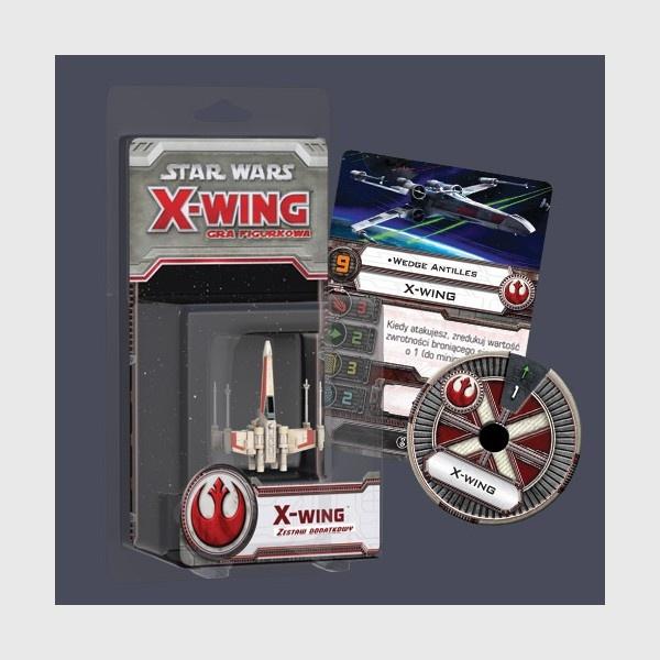 X-Wing: Zestaw Dodatkowy - X-Wing (Gra Figurkowa)