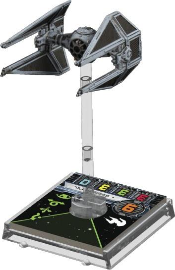 X-Wing: Zestaw Dodatkowy - TIE Interceptor (Gra Figurkowa)